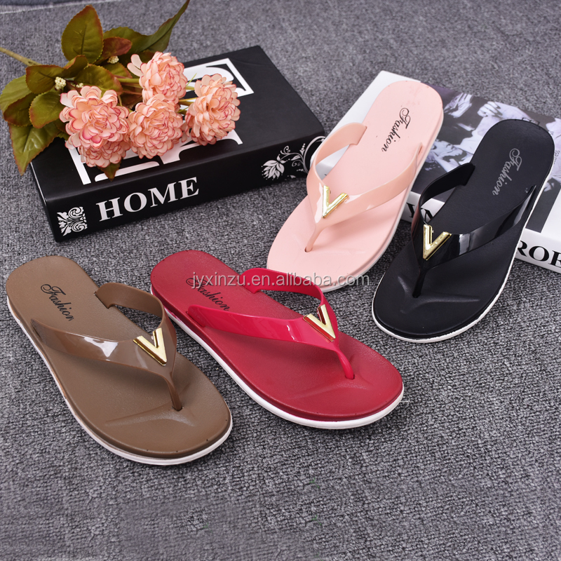 2016 New Casual Beach PCU Women Flip Flop Slipper Sandals Shoes
