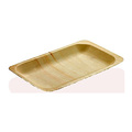 Square Disposable cheap wooden leaf plates