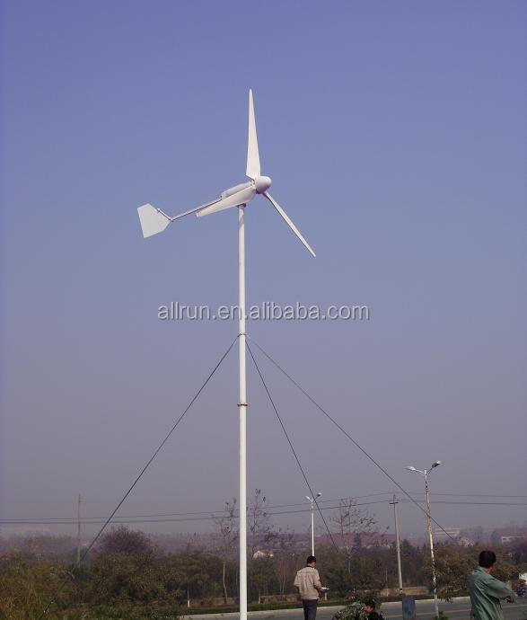 2016 hot sale 1kw 2kw 3kw 5kw windmill for electricity