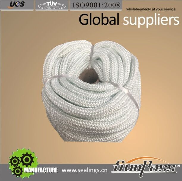 Thermal Knitted Fiberglass Rope (Soft Type)