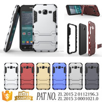 PC+TPU Kickstand slim case for samsung galaxy j2