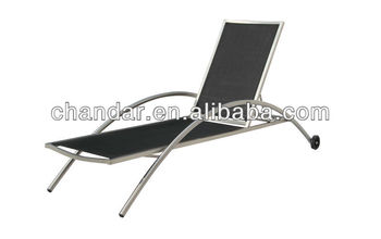 Stainless Steel Sun Lounger Chaise,Bench Chair