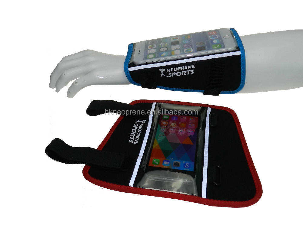 Jogging Neoprene Mobile Phone Sports Armband,Neoprene Armband phone Holder