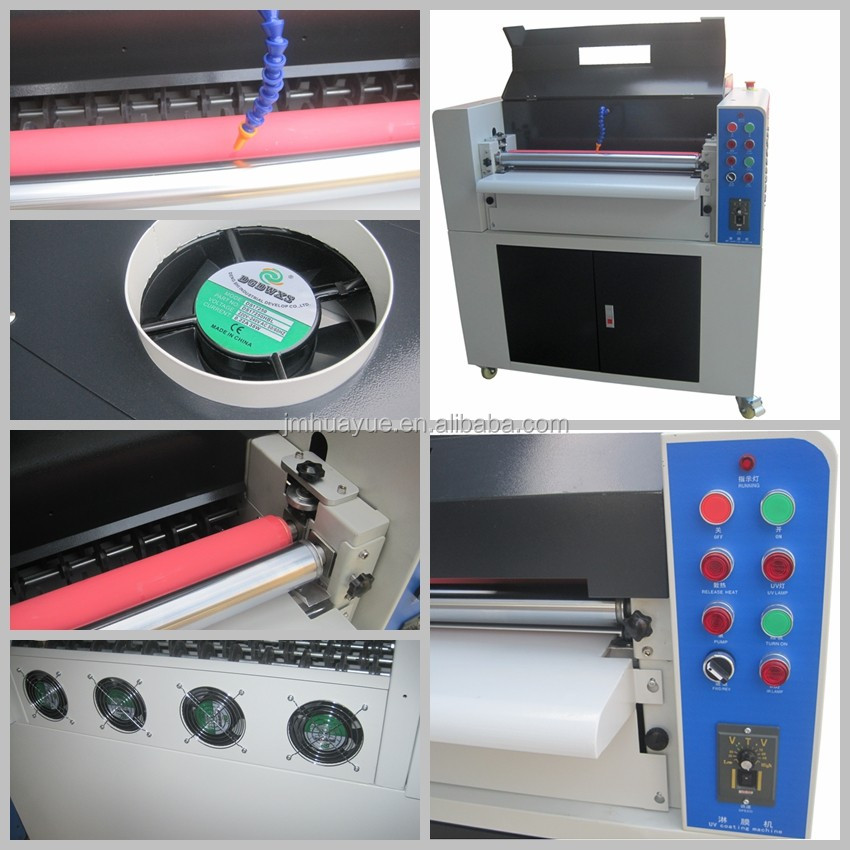 High quality with uv varnish machine