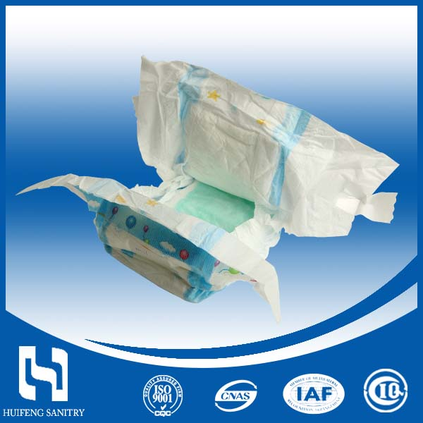 China Comfortable Soft Raw Materials Defective Sleepy Baby Diaperfor Diaper Making