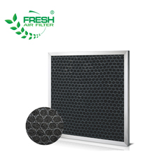 Washable High Dust Holding Capacity Pleated Panel Air Filter