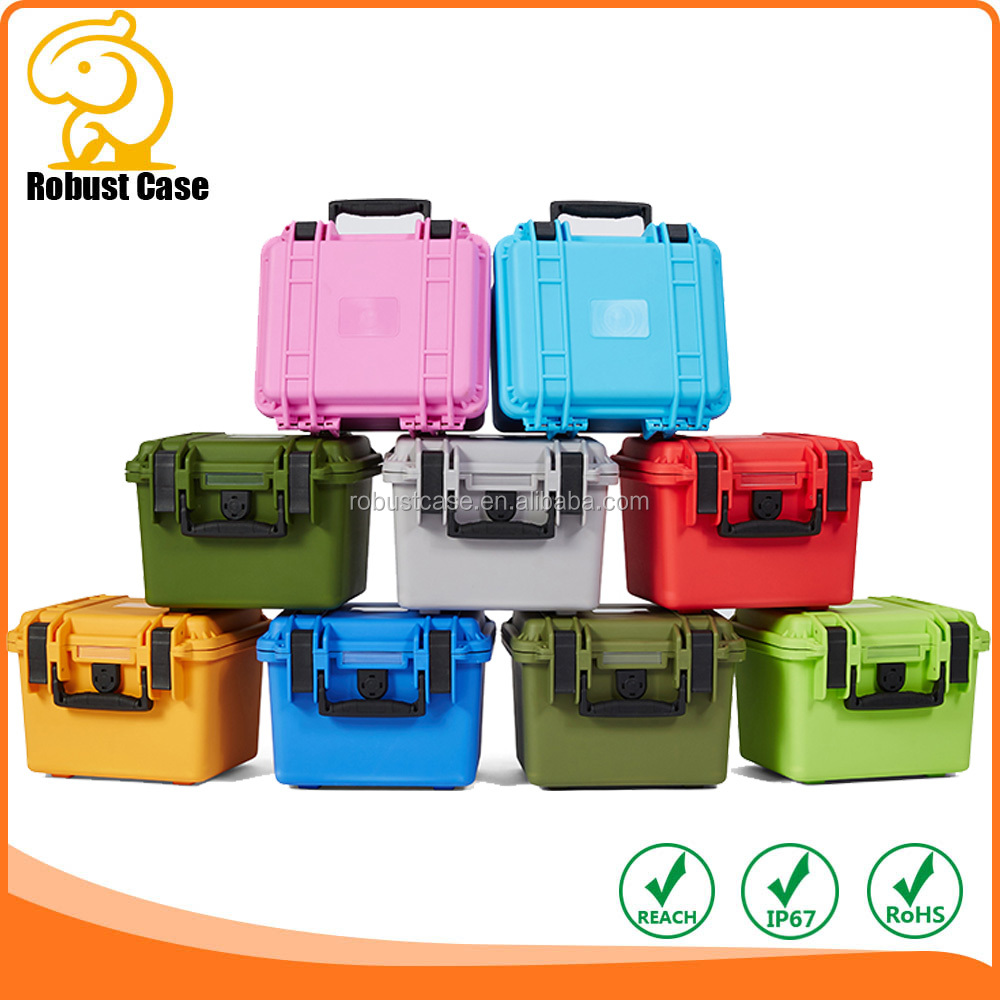 Hard Plastic Watertight Case with foam for Electronics, Equipment, Cameras, Tools, Drone