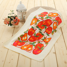 Factory price wholesale printing kitchen standard size tea towel