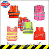 Pink Safety Vest with hook and loop fastener
