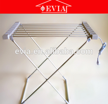 2016 Hangzhou EVIA aluminum 120w folding heated electric clothes drying rack