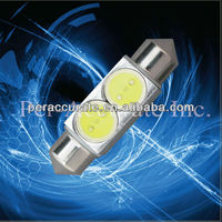 Led auto bulb NAVIGATION LED LIGHT Festoon High power 2W marine light