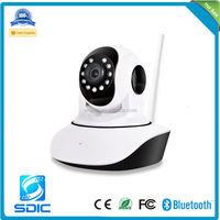 Wide Angle HD 720P Wireless WIFI ONVIF Network Indoor CCTV Night Vision Car Dvr Home Security IP Camera