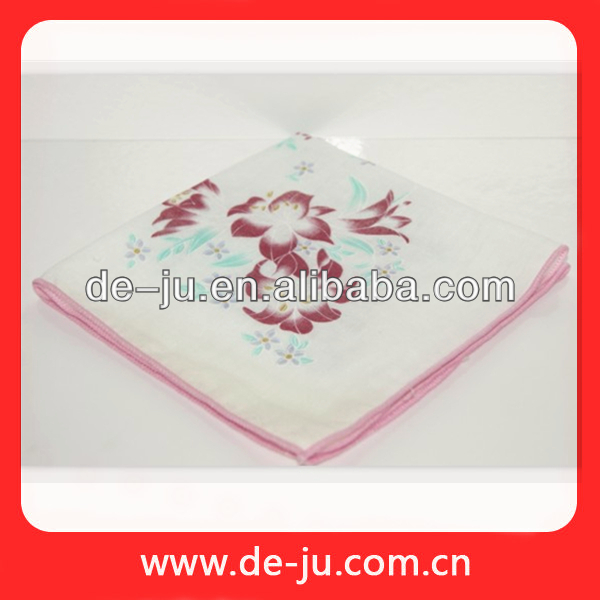 Handkerchief Children Ladies Printing Cotton Handkerchief