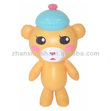 Customized style small animal toy plastic inflatable kid toy