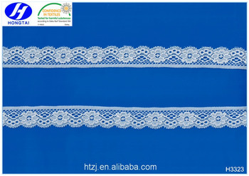 Wholesale excellent quality bulk quantity Wedding trim fabrics sample trustwin lace in China