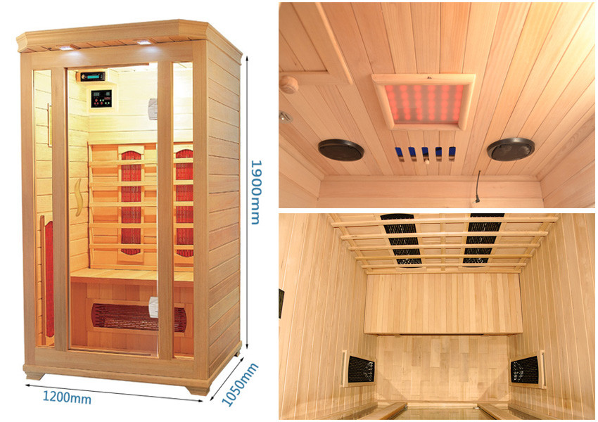 Luxury Full spectrum heater near infrared sauna