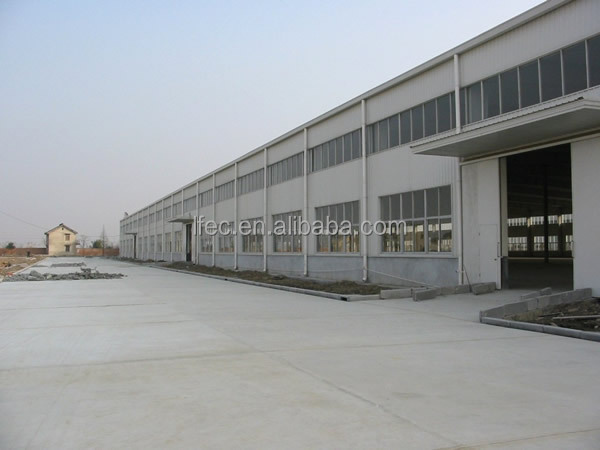 Light frame prefabricated steel industrial buildings fabrication