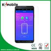 2015 new design 9H Hardness tempered glass screen protector with APP for all model mobile phone