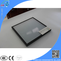 anti-reflective coating glass for building wall