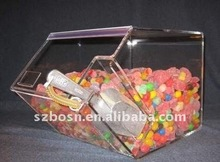 Acrylic Candy Bin/ Acrylic Candy Display Case / Acrylic Sweet Container