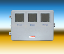 single phase SMCDMC Electric FRP 3 way Meter Box