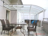 embossed panel polycarbonate material for patio covers/shed