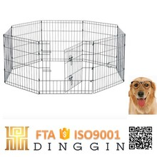 Dog run fence panels dog kennel