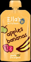 Ella's Kitchen Organic Apple and Banana stage 1 (4moths +)