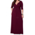 Europe women style 100% cotton plus size ladies maxi dress