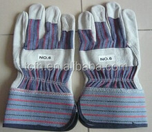 10.5 inch cheap Cow grain safety glove working labor leather glove