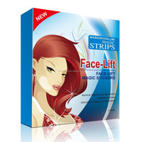 2016 new product beauty face-lift magic strips stickers
