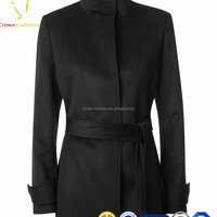 Ladies Winter Warm Wool Coat Cashmere