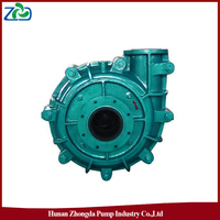 2016 New CN Wholesale ZJ Type High-efficiency Industrial Corrosion Resistant Single-stage Single-section Slurry Centrifugal Pump
