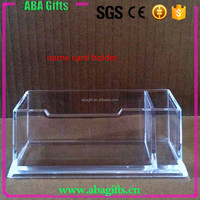 Clear Color Name Card Acrylic Boxes