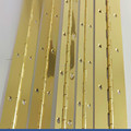 gold plated piano hinges