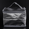 Wholesale plain aluminium foil cooler bag/cooler shopping bag/insulated shopping bag