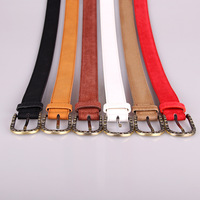 Fashion shinny buckle Women ladies sexy wide pu leather waist belt for Formal Dress