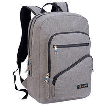 Factory Supply Canvas Pattern Compact Laptop Backpack