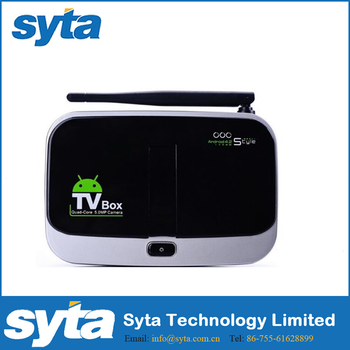 SYTA Newest Set Top Box wit Android 5.1 OS/Cpu RK3368/Octa core/BT 4.0/Wifi 2.4GHz,5GHz/2G+16G-CS918S