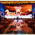 Indoor Rental P3.91 LED Video Wall With cabinet size 500*1000mm
