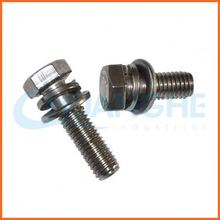 China manufacturer precise metal hdg a325 hex bolt with a194 2h hex nut and f436 washer