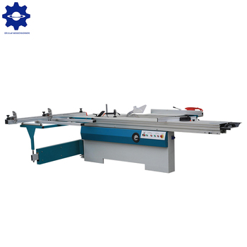 Durable woodworking wood cutting precision sliding table saw with CE Certificate