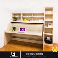 Transformable Murphy Bed Hidden Bed With Study Table