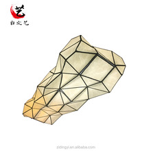 2017 High quality irregular shaped led paper ceiling light for decoration