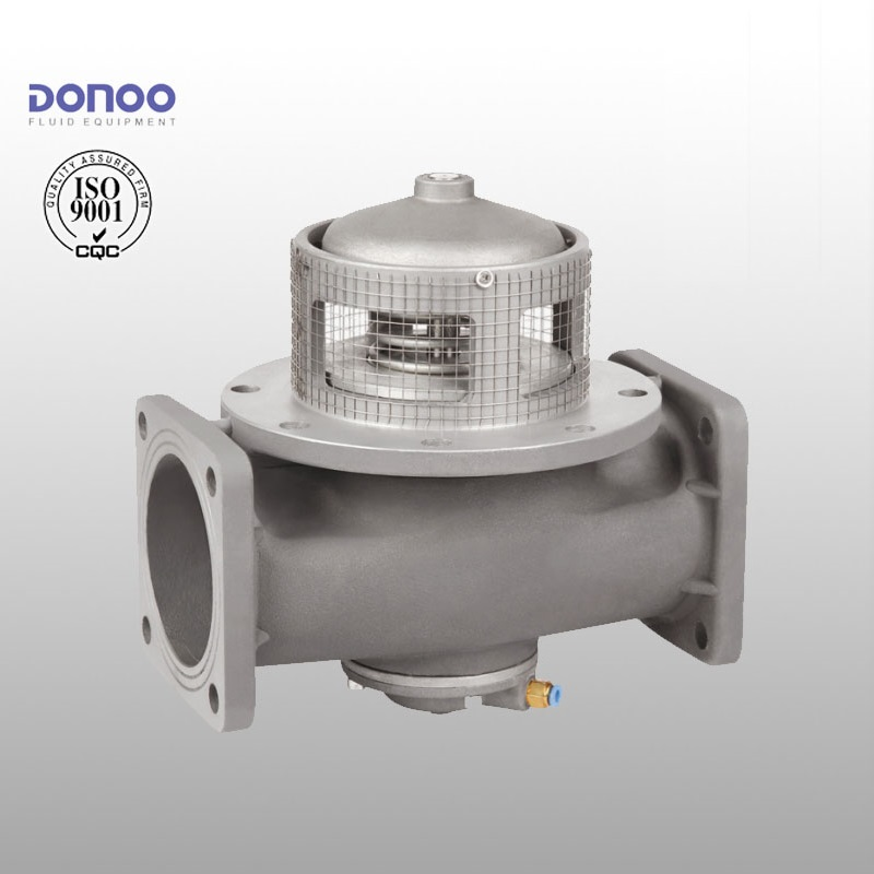 Emergency Shut-off Valve, T type Bottom Valve, Aluminum Foot Valve for Road Fuel Tanker Truck