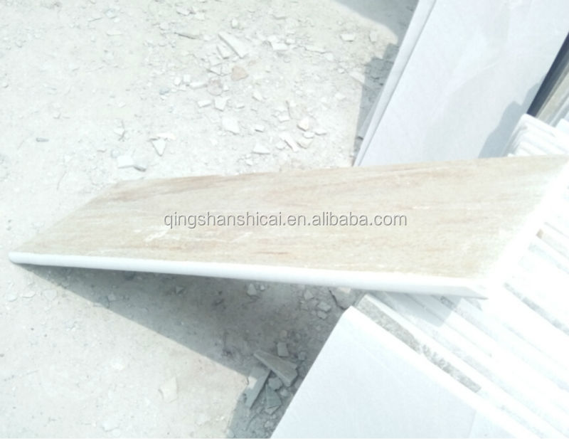 beige white slate stairs tread step