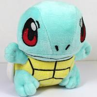 Cute Anime Pocket Monster Plush 16cm Pokemon Squirtle Plush Toy Soft Stuffed Animal Toys Figure Collectible Doll Children Gift