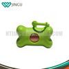 Factory direct custom dog pet bone shaped poop bag dispenser with cheap price
