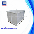 Galvanized Steel Pallet for industry/used steel cargo bins for sale