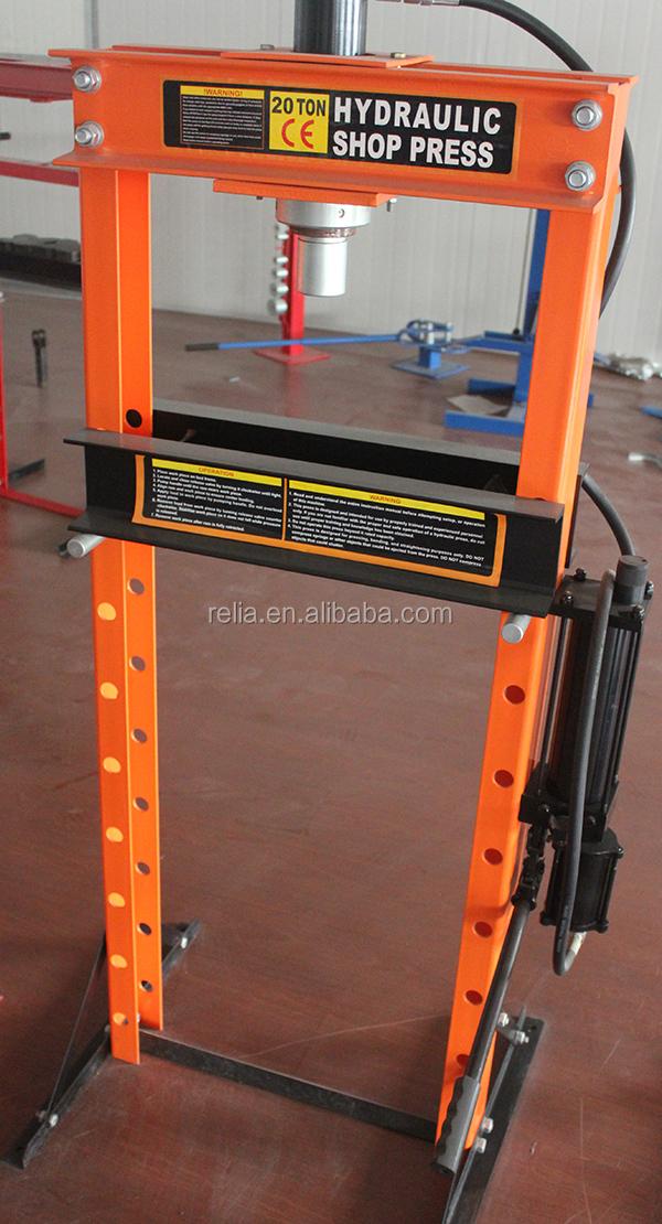20 tonnellata manuale pressa idraulica negozio martinetto for Mini pressa idraulica
